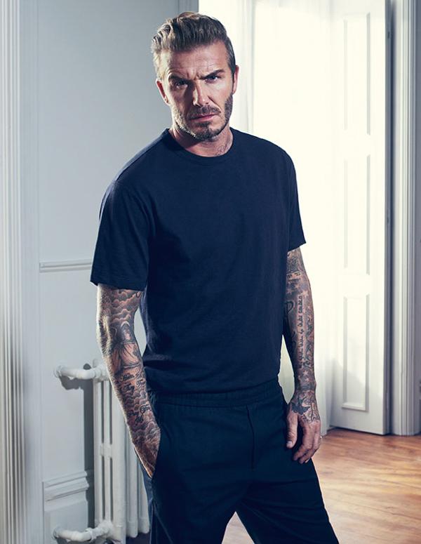 muška moda David Beckham H&M kako kombinirati odjeću kao David Beckham