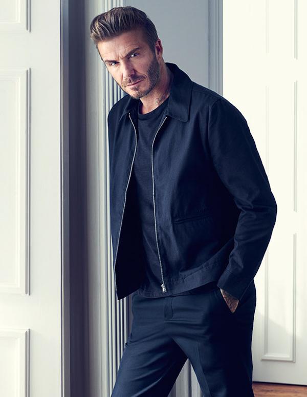 muška moda David Beckham H&M kako kombinirati kratku jaknu i hlače