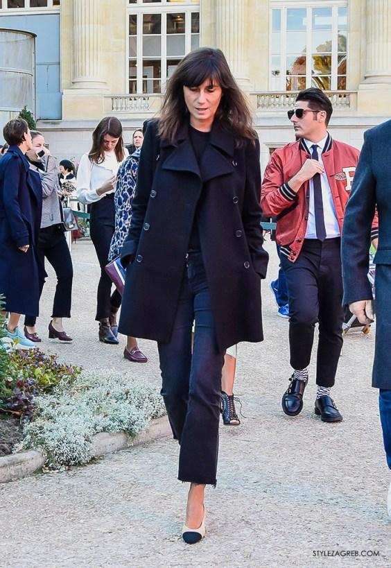 Emmanuelle Alt, Pariški tjedan mode, listopad 2015.
