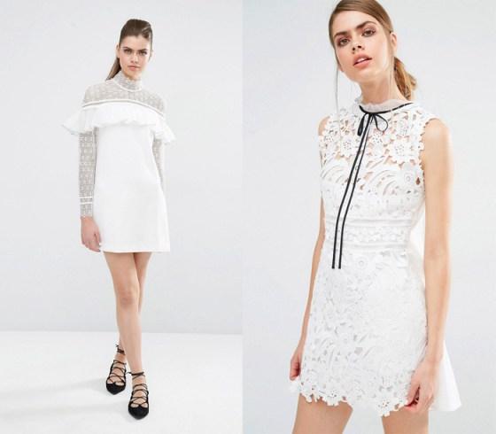 10 divnih bijelih haljina - za vjenčanje i ulicu