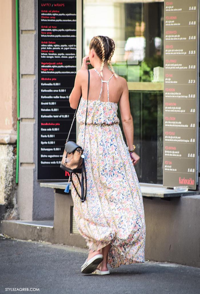 street style Zagreb, ljeto 2016, duge haljine, duge haljine H&M, Zara, ženska moda