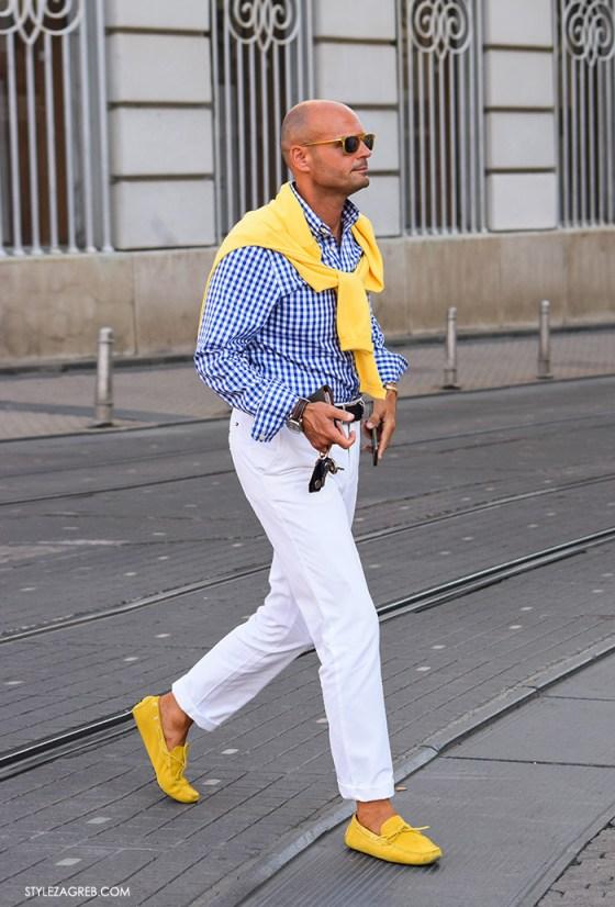 Žute cipele na muški i ženski način