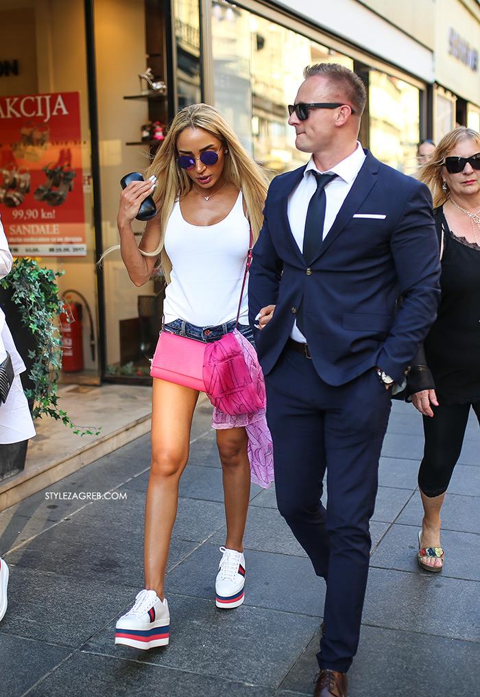 street style zagreb špica ljetna moda bijele gucci platforme