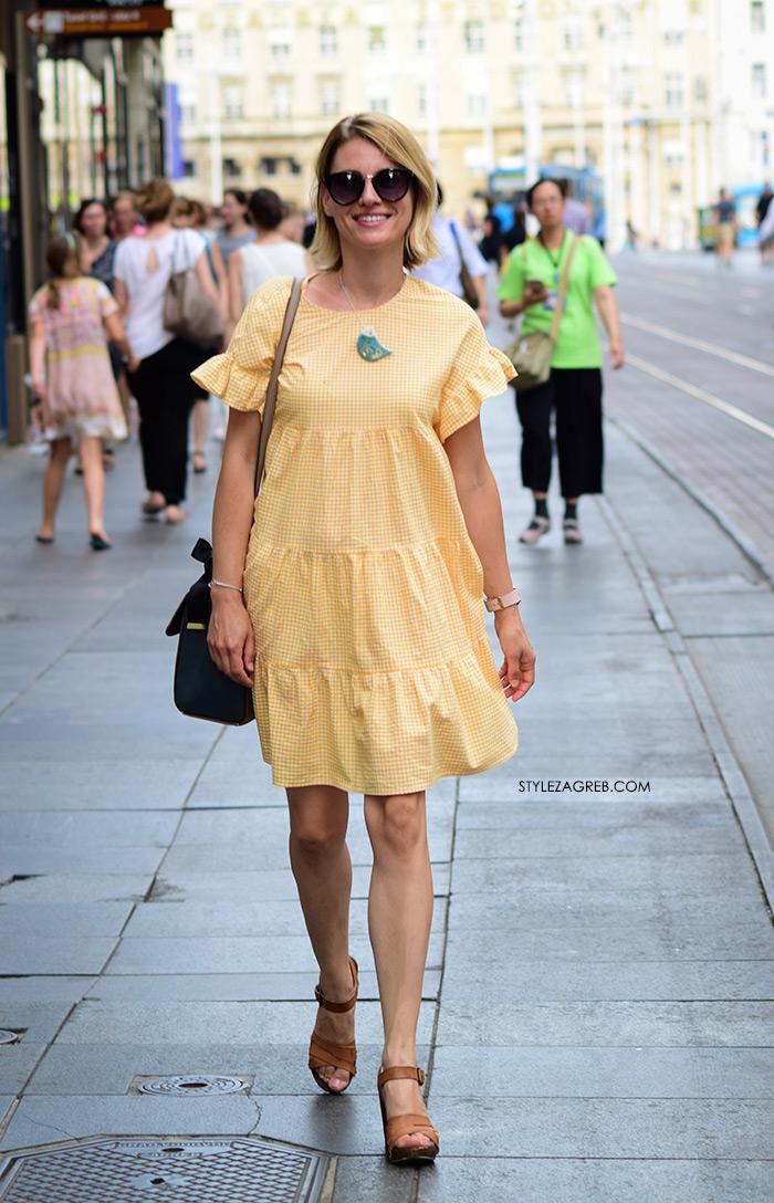 žena sa stilom Zagreb street style ljetna moda srpanj 2017.