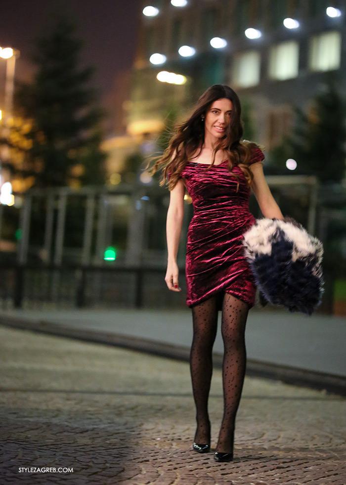 Ana Josipović haljina od baršuna, haljine za mature Sherri Hill Zagreb Style Zagreb htv video prilog o modi
