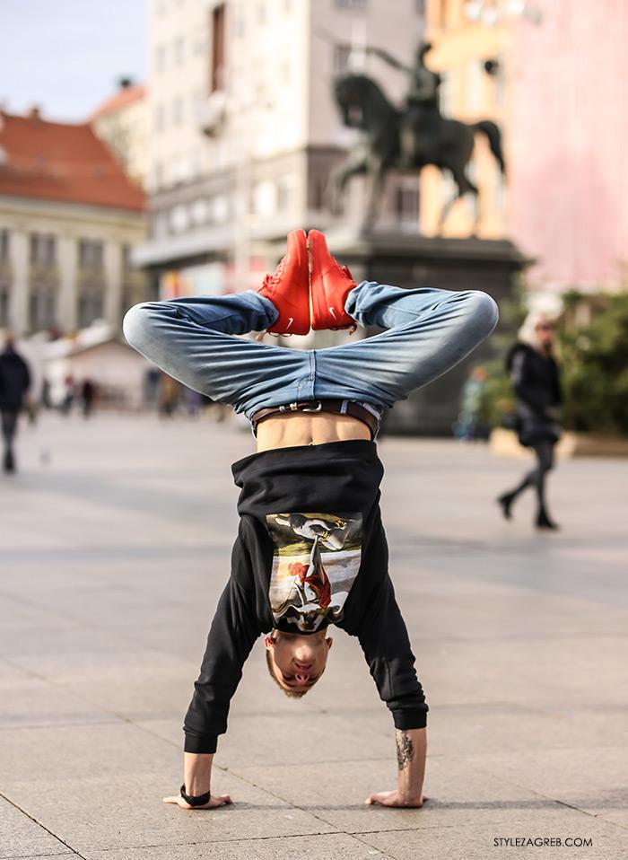 Street style akrobacije i kultne Nike Air Force Utility tenisice
