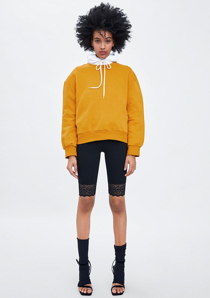 biciklističke hlačice Zara Mango Reserved