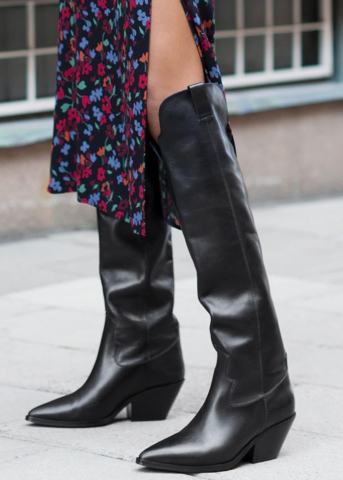 kaubojke 2019 zagreb špica najbolje online trgovine u europi, asos obuća, visoke crne kaubojske čizme Other Stories