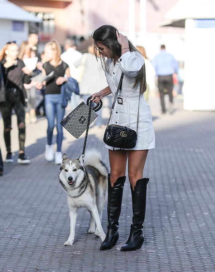 kaubojke 2019 zagreb špica čizme zagreb gdje kupiti wish cipele humanic cipele 2019 Helena Matić pas haski visoke crne kaubojske čizme Other Stories