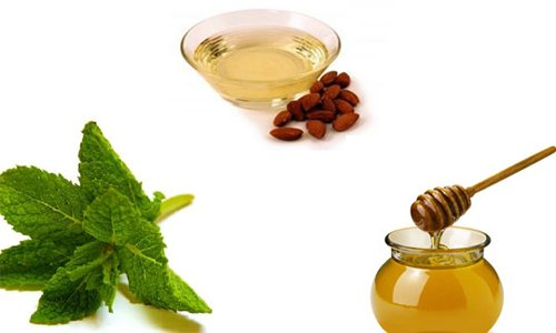 Almond oil in Home remedies to treat dark circles.