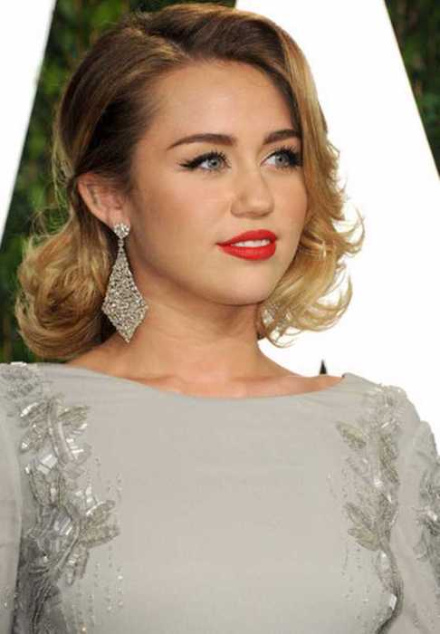 Celebrity Short Hairstyle for 2016