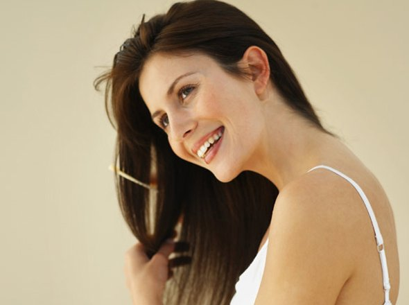 Natural ways to treat hair loss.