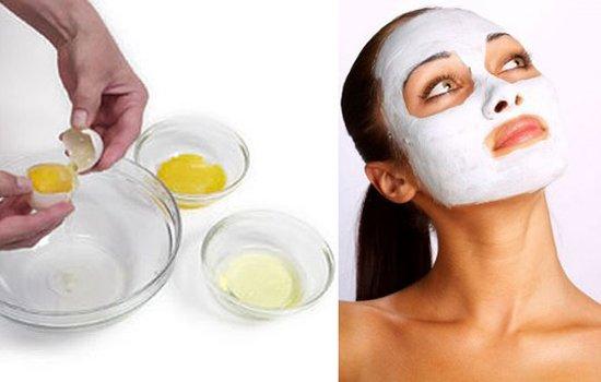 acne remove Egg white