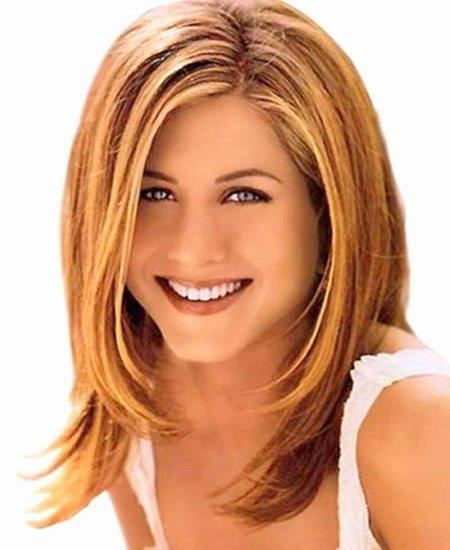 Jennifer Aniston Colored Layers