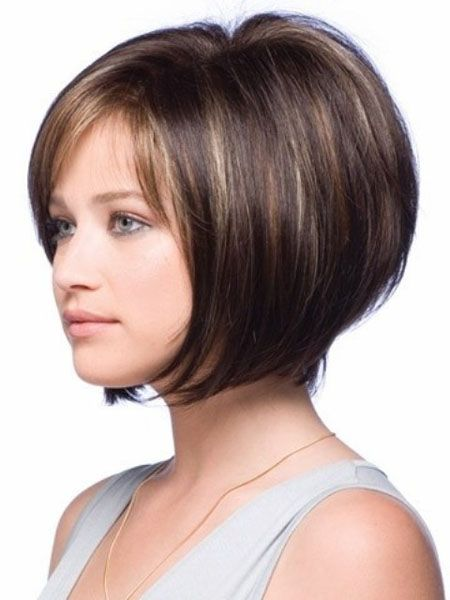 2014 Short Bob with soft Bangs