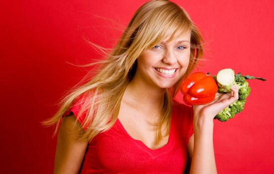 Grow long hair with Healthy Diet