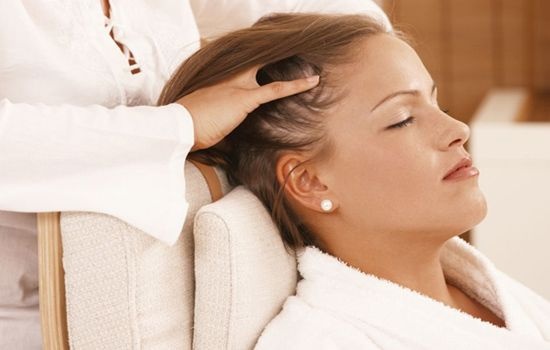 Massage your hair