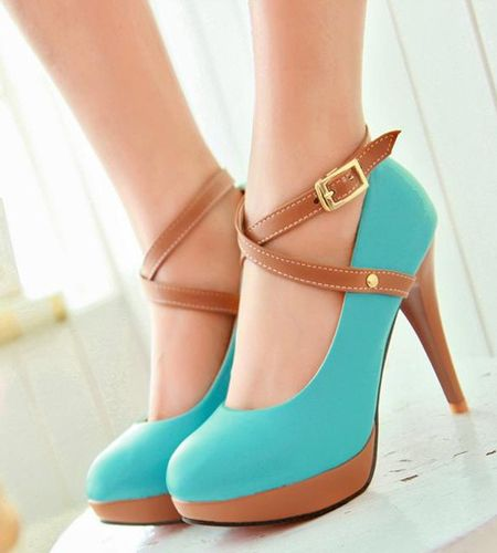 Women captivating heels