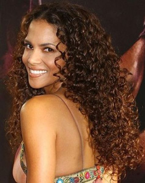 long Hair colors and Curls for black women