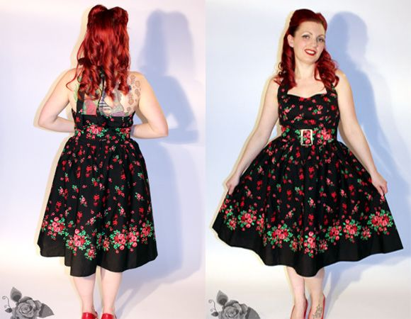 pin up Dainty frocks
