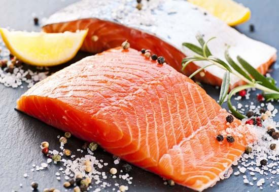 Salmons for healthy gorgeous hair