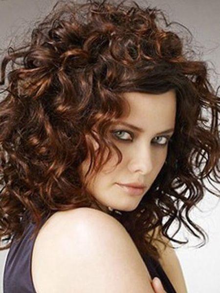 Super medium length curls