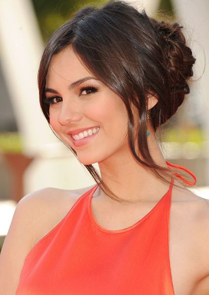 homecoming French twists hairstyles