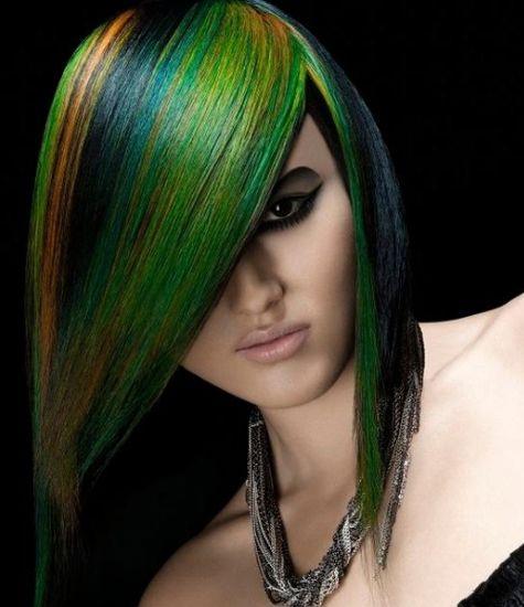 Hair color Birds Feature Technique