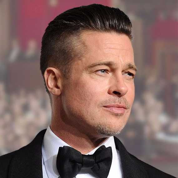 Brad Pitt Hairstyles 2016 - Hottest Look for Men   Stylezco