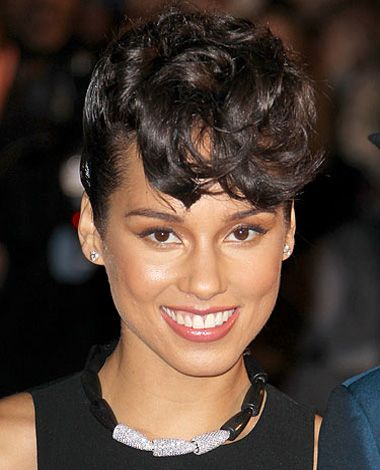 Natural Short Cut Weaves style