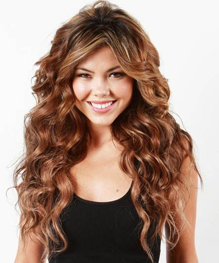 2015 Thick hairs with fine curls