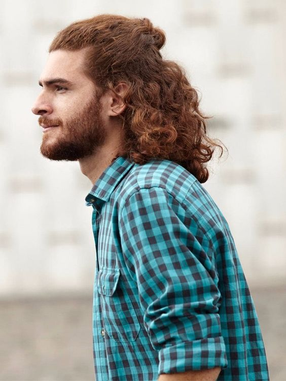 Boys long curly hairstyles 2018