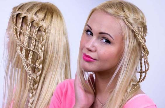 Prom Hairstyles with Braids 2015