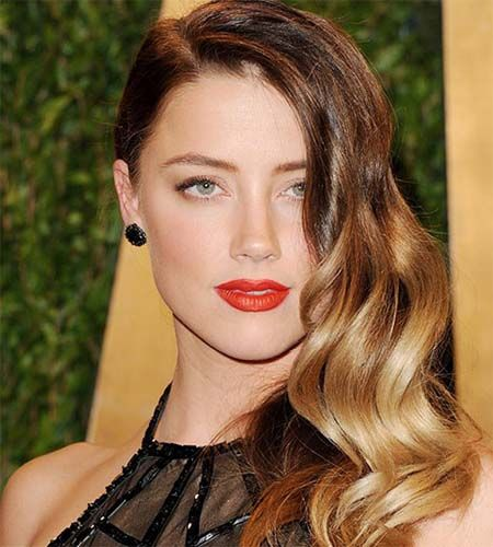 Side-swept long Hairstyles 2015