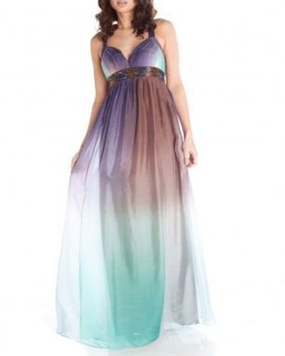 aftershock long flowing gown