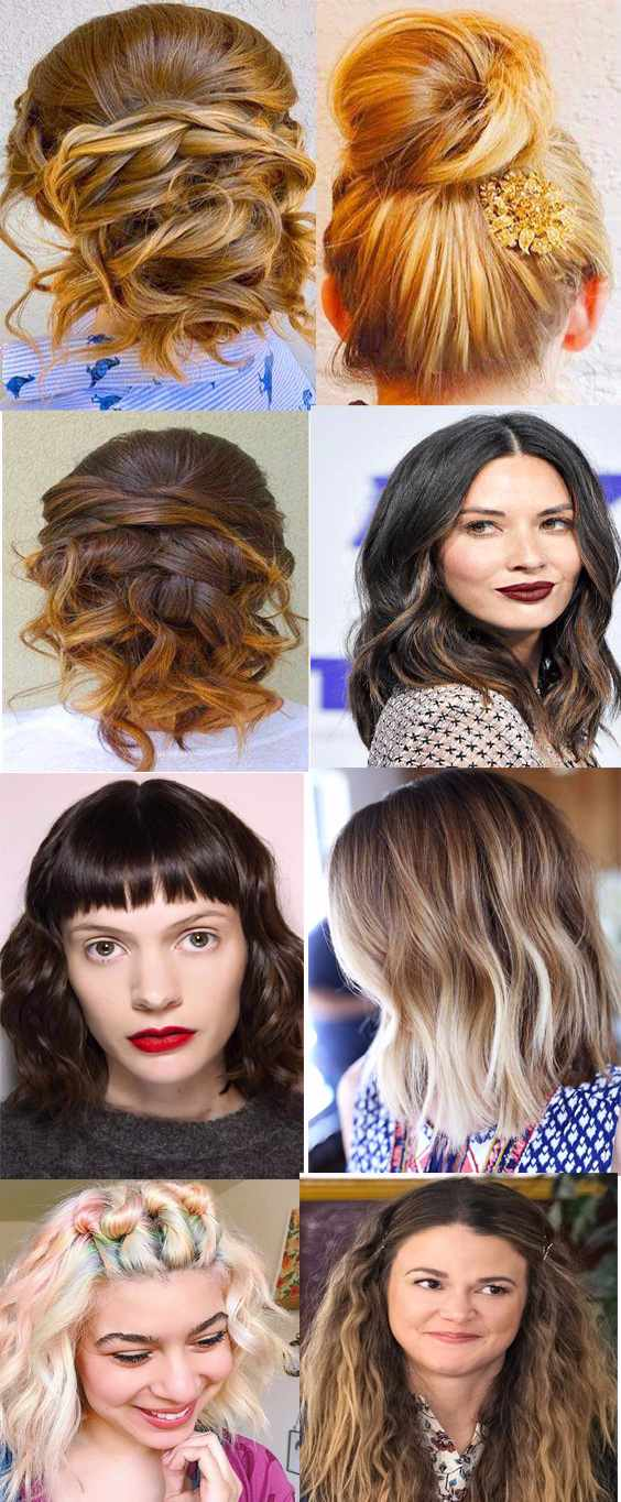 Fall-autumm hair colors and hairstyles trends 2017