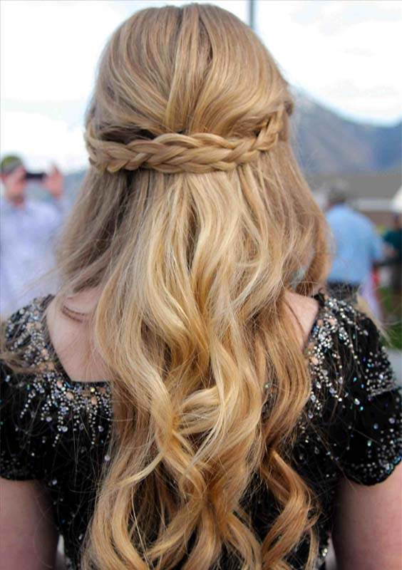 Best Half up French Braids for Long Hairstyles