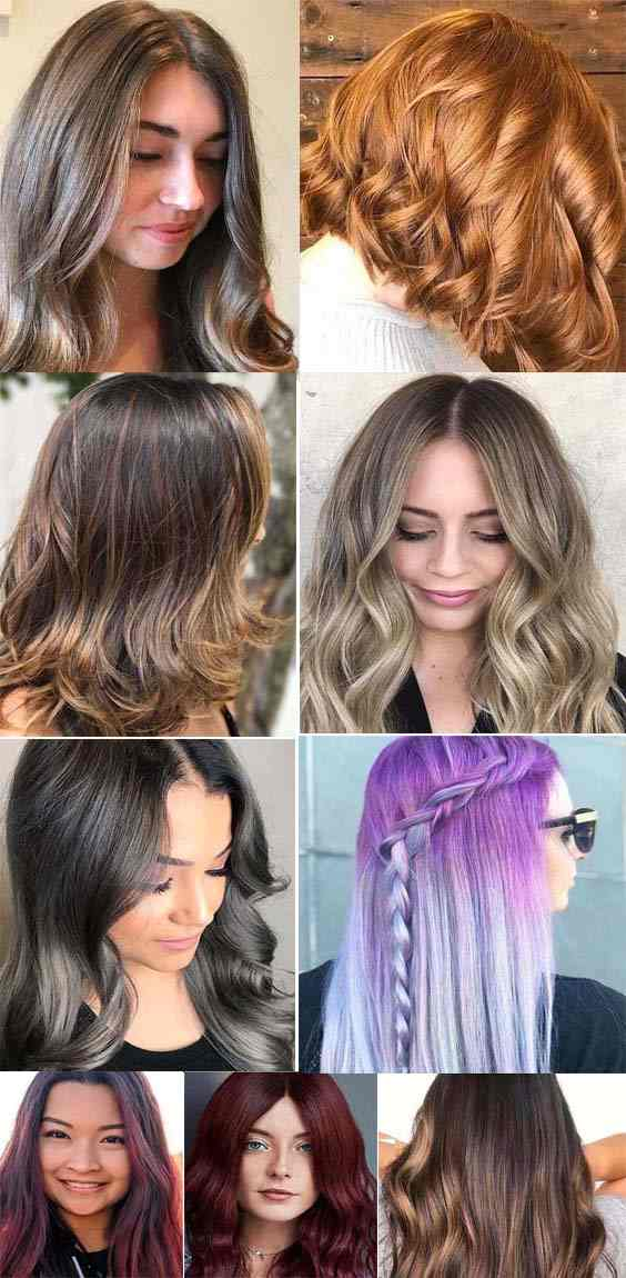 Best Hair Color Ideas and Trends for 2018
