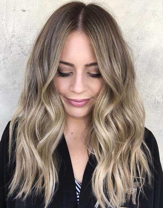 Honey Blonde Hair Color Ideas 2018