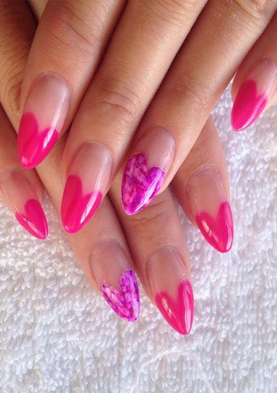 Acrylic Nail Shapes and Nail Designs
