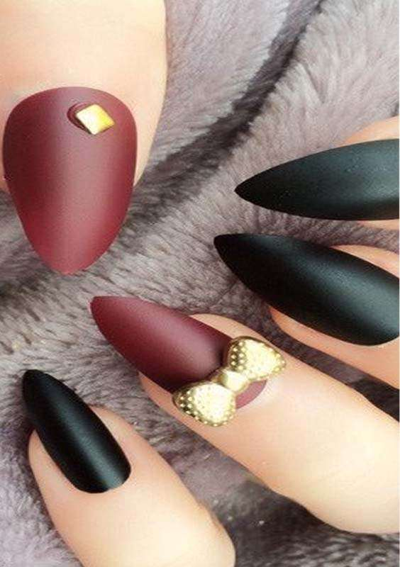 Arrowhead Nail Art Designs and Images