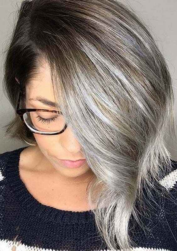 Asymmetrical Lob Styles for Women 2018