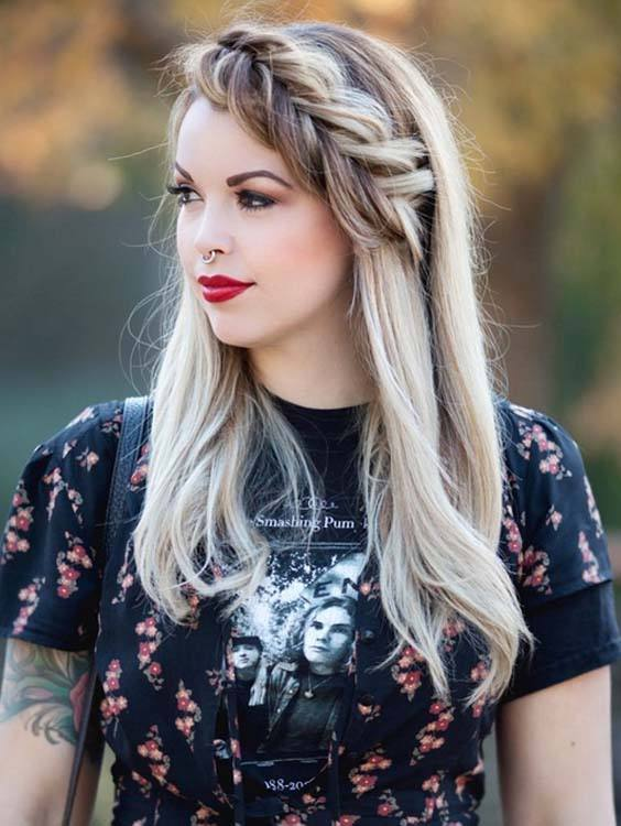 Crown Braids for Long Hairstyles in 2018