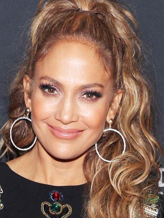 Jennifer Lopez Wavy Hairstyles 2018