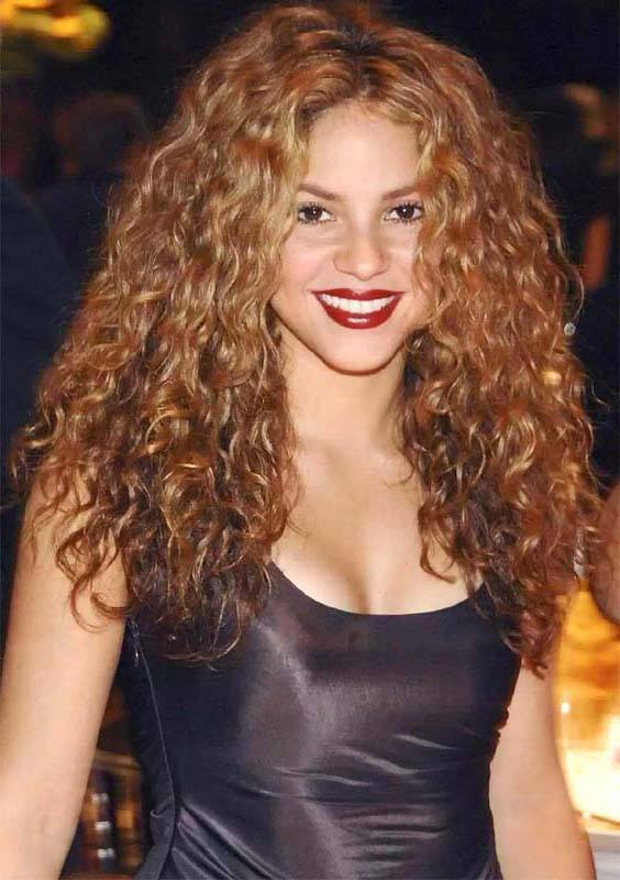 Layered Brown Curly Hairstyles