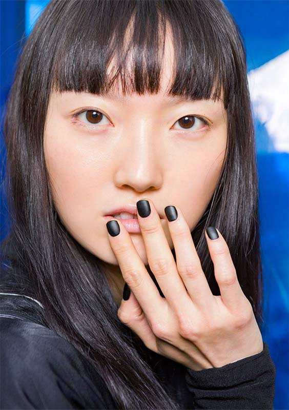 Matte Black Nail Arts and Nail Designs