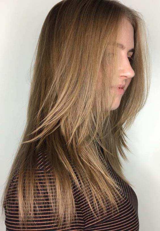 Natural Long Layered Hairstyles 2018