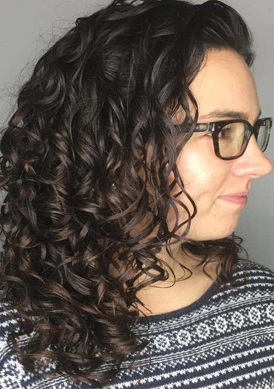 Shoulder Length Black Curly Hairstyles 2018