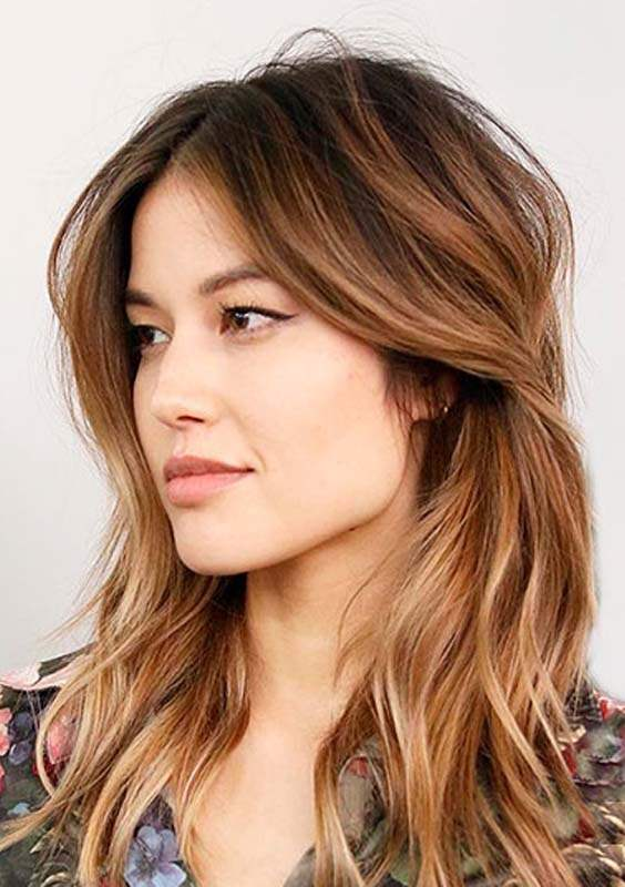 trending shoulder length hairstyles
