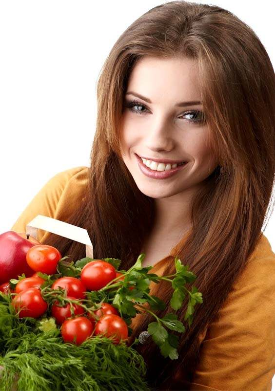 Use of Vegetables for Health Skin